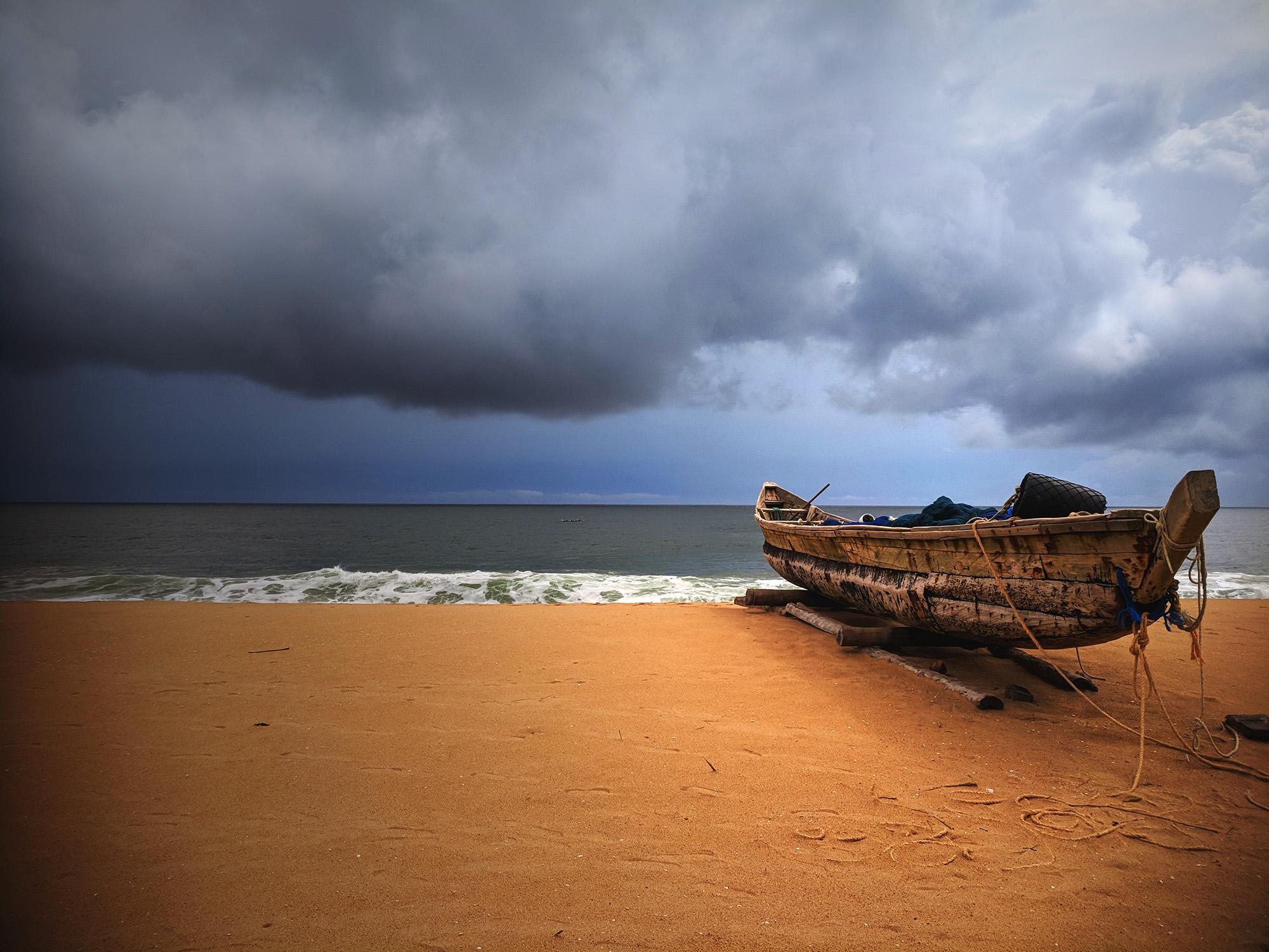 KalastusveneMaalla